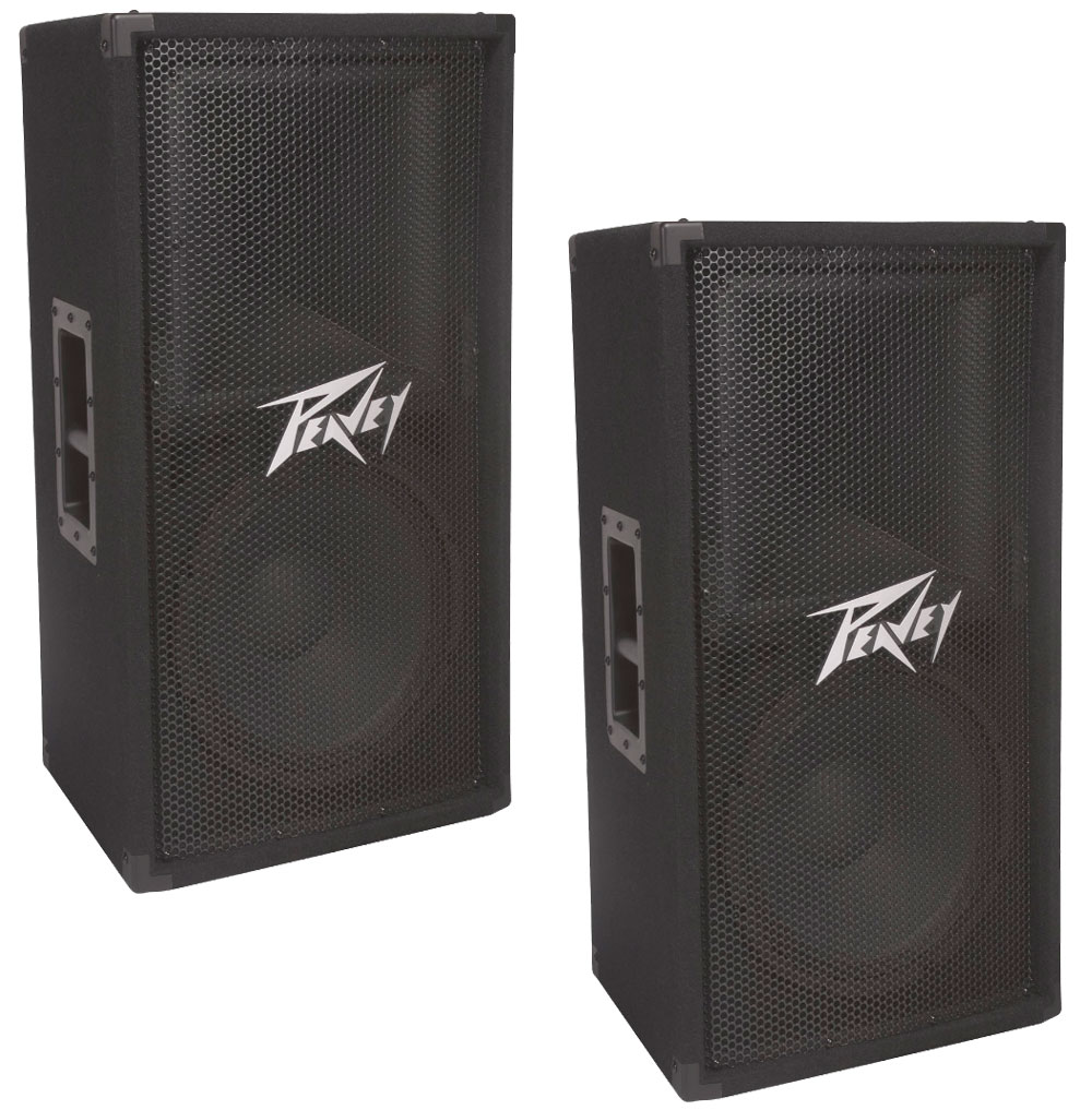 peavey 2 pv112 pro audio dj two way 12 passive 800 watt. Black Bedroom Furniture Sets. Home Design Ideas