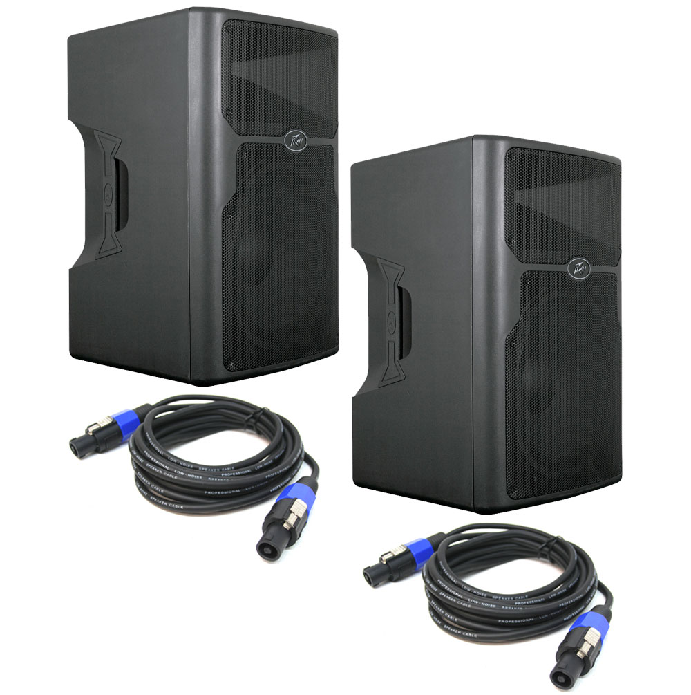 peavey 2 pvx15 pro audio dj 800 watt plastic 2 way. Black Bedroom Furniture Sets. Home Design Ideas