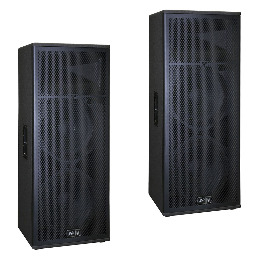 "(2) Peavey SP 4 Pro Audio DJ Passive 4000W Dual 15"" 3-Way PA Speaker Package New"