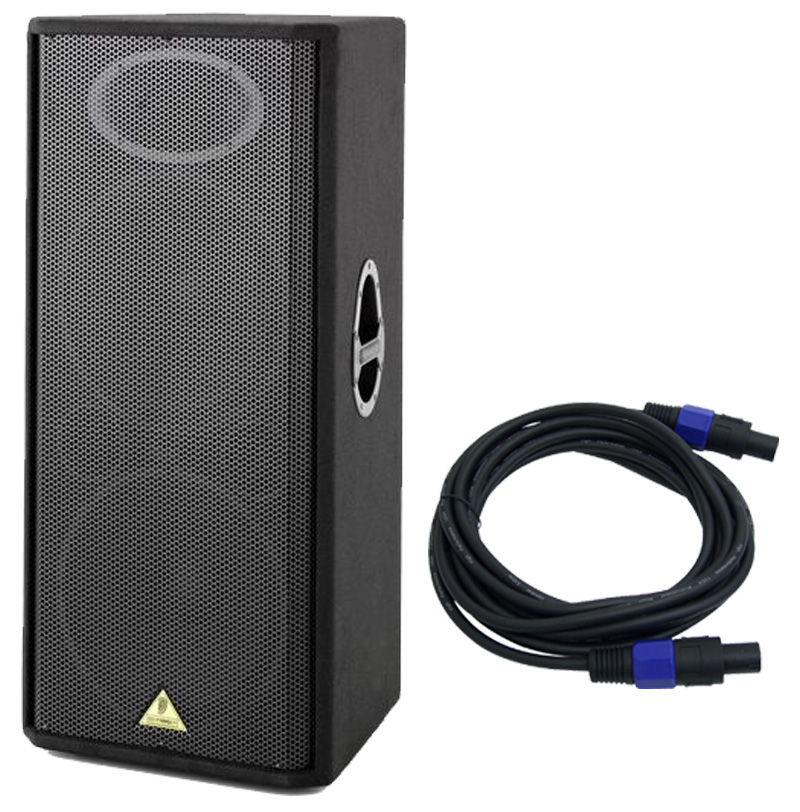 Behringer Vp2520 Pro Audio Dj Passive 15 U0026quot  2000 Watt 2 Way Speaker With  38 Speakon Cable