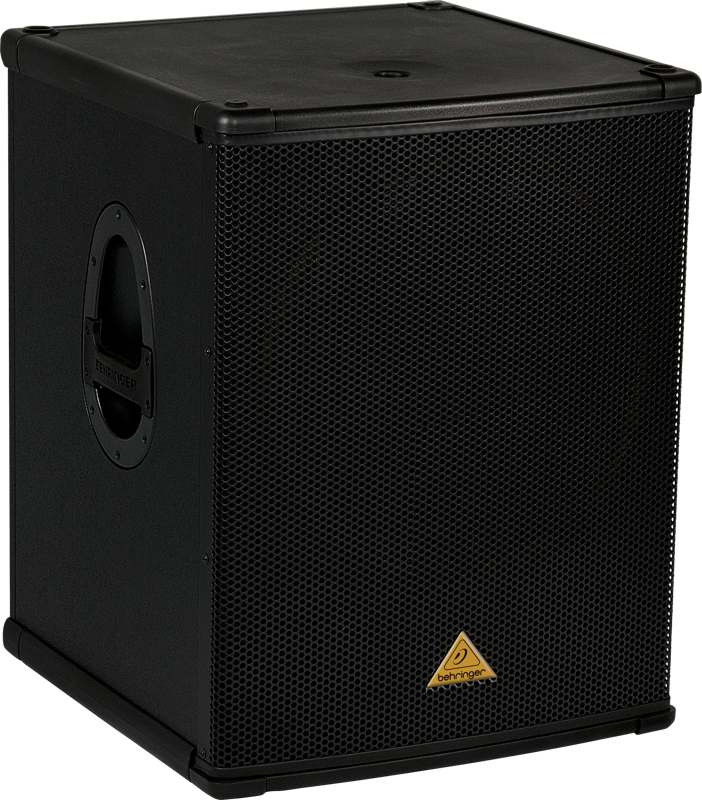 behringer b1800x pro professional 1 800 watt 18 pa passive subwoofer behr12 b1800x pro. Black Bedroom Furniture Sets. Home Design Ideas