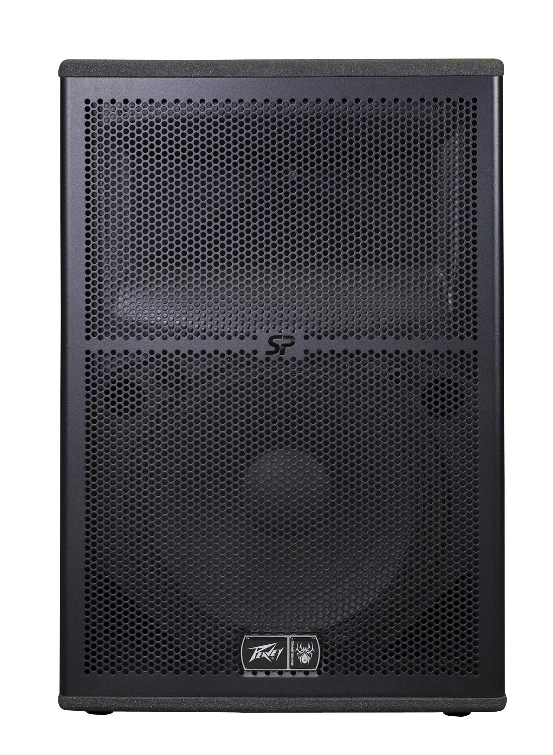 peavey sp 2bx 2000w 2 way full range bi amp sound system w. Black Bedroom Furniture Sets. Home Design Ideas