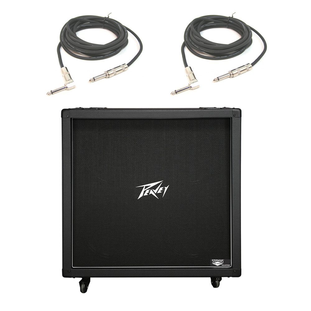 peavey 430b 412 electric guitar cab cabinet 120w vintage british sound cables 143676512870 ebay. Black Bedroom Furniture Sets. Home Design Ideas