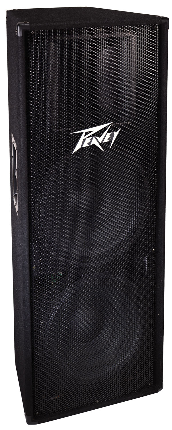 peavey pv 215 1400 watts power peak two way double 15 inch. Black Bedroom Furniture Sets. Home Design Ideas