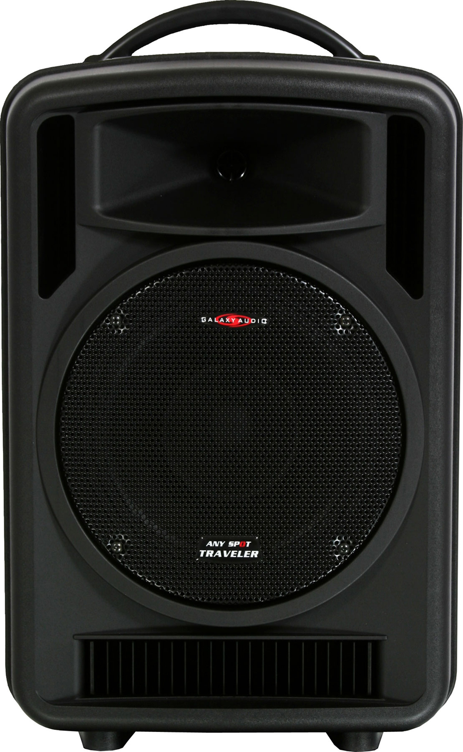 Galaxy Audio AS-TV10C2 Any Spot Traveler 10 Portable PA System with CD Player & Choice of 2 Wireless Mics