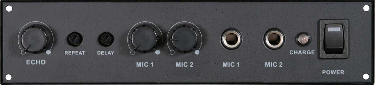 Galaxy Audio AS-TVEC Echo Module For Pa System 2 Microphone Inputs - New Return