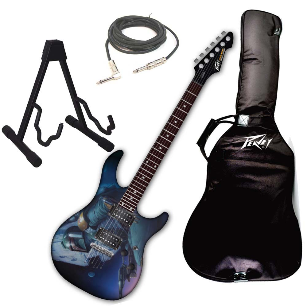 Peavey Star Wars Boba Fett Predator Plus EXP Electric Guitar w/ Stand & Cable