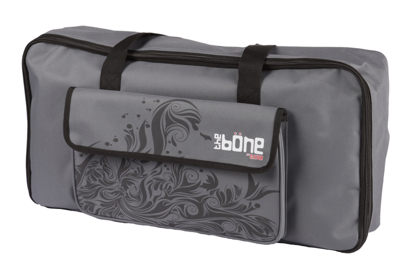 Gator Cases G-BONE-WG Molded Polyethylene Pedal Board and Wave Grey Carry Case
