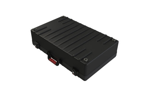 Gator Cases G-GIG-BOX JR-TSA Case Converts to Pedal Board & Stand for 3 Guitars w/ Latches