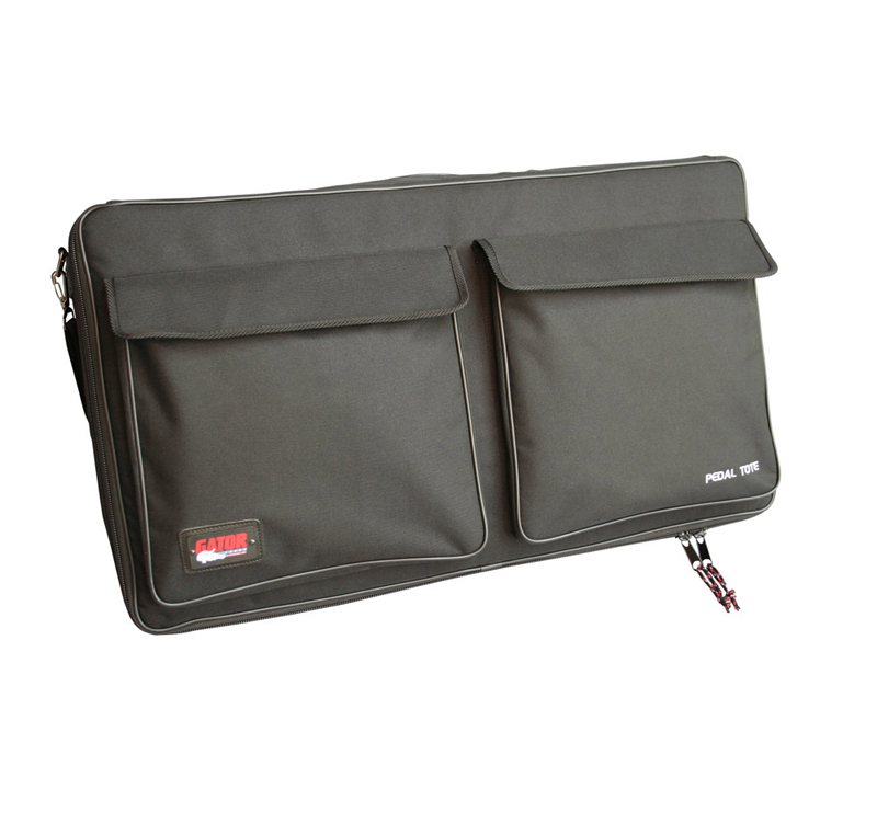 """Gator Cases GPT-PRO Black Nylon Carry Bag with 30"""" X 16"""" Wood Pedal Board"""