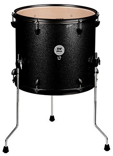 Ddrum 12x14 inch d2 series 6 ply basswood floor tom drum for 16 x 12 floor tom