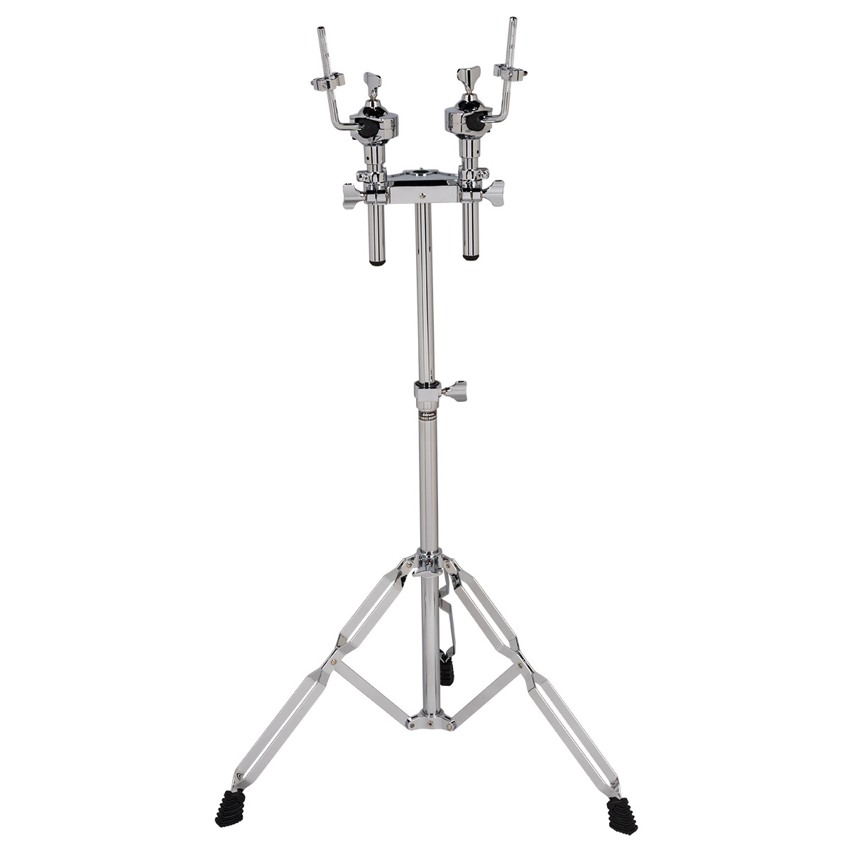 dDrum RX Series Dual Rack Tom Stand Mount with Double Braced Legs (RXDTS)