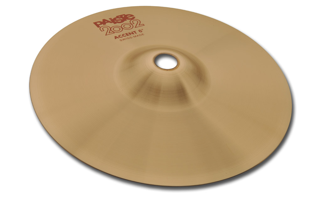 Paiste 6 Inch 2002 Series Accent Cymbal with Lively Intensity (1069306)