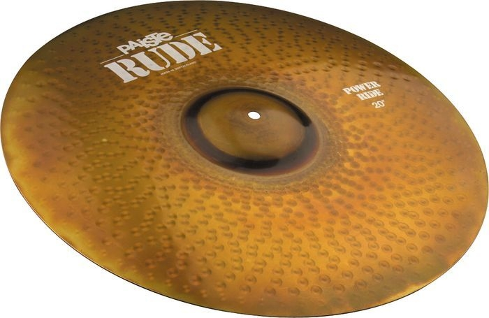 Paiste Rude Series 20 Inch Power Ride Cymbal with Long Sustain & Lively Intensity (1122920)