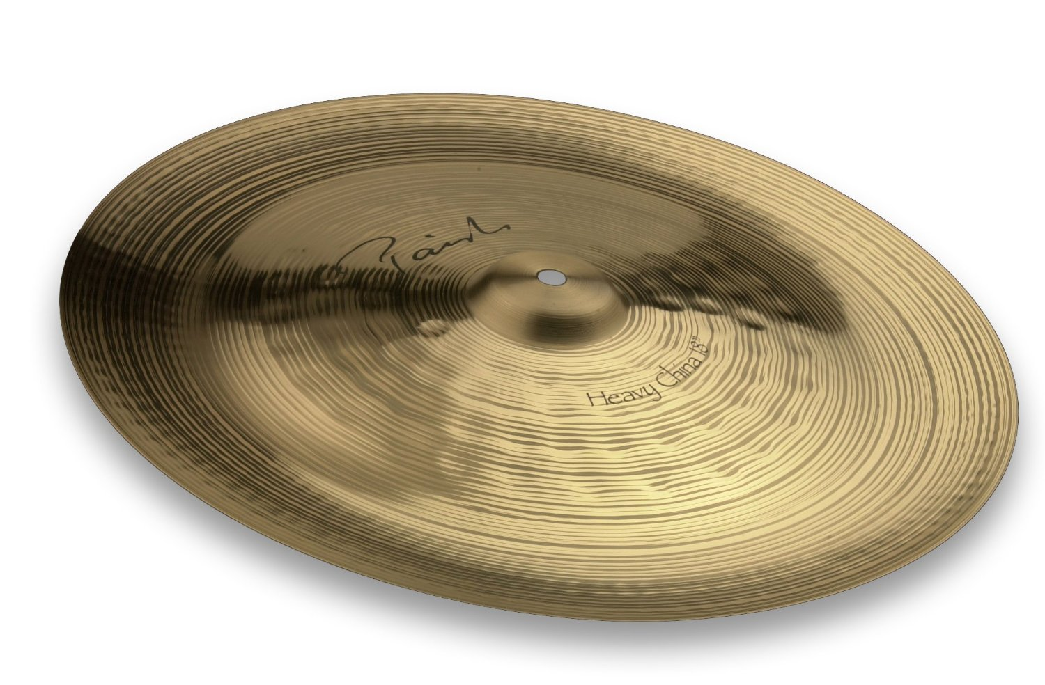 paiste 4002518 18 inch signature heavy china cymbal w integrated bell character ebay. Black Bedroom Furniture Sets. Home Design Ideas