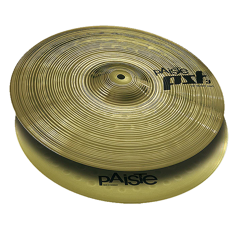 PAISTE 634214 14 INCH PST 3 SERIES BOTTOM HI-HAT CYMBAL W// CLEAN SOUND CHARACTER