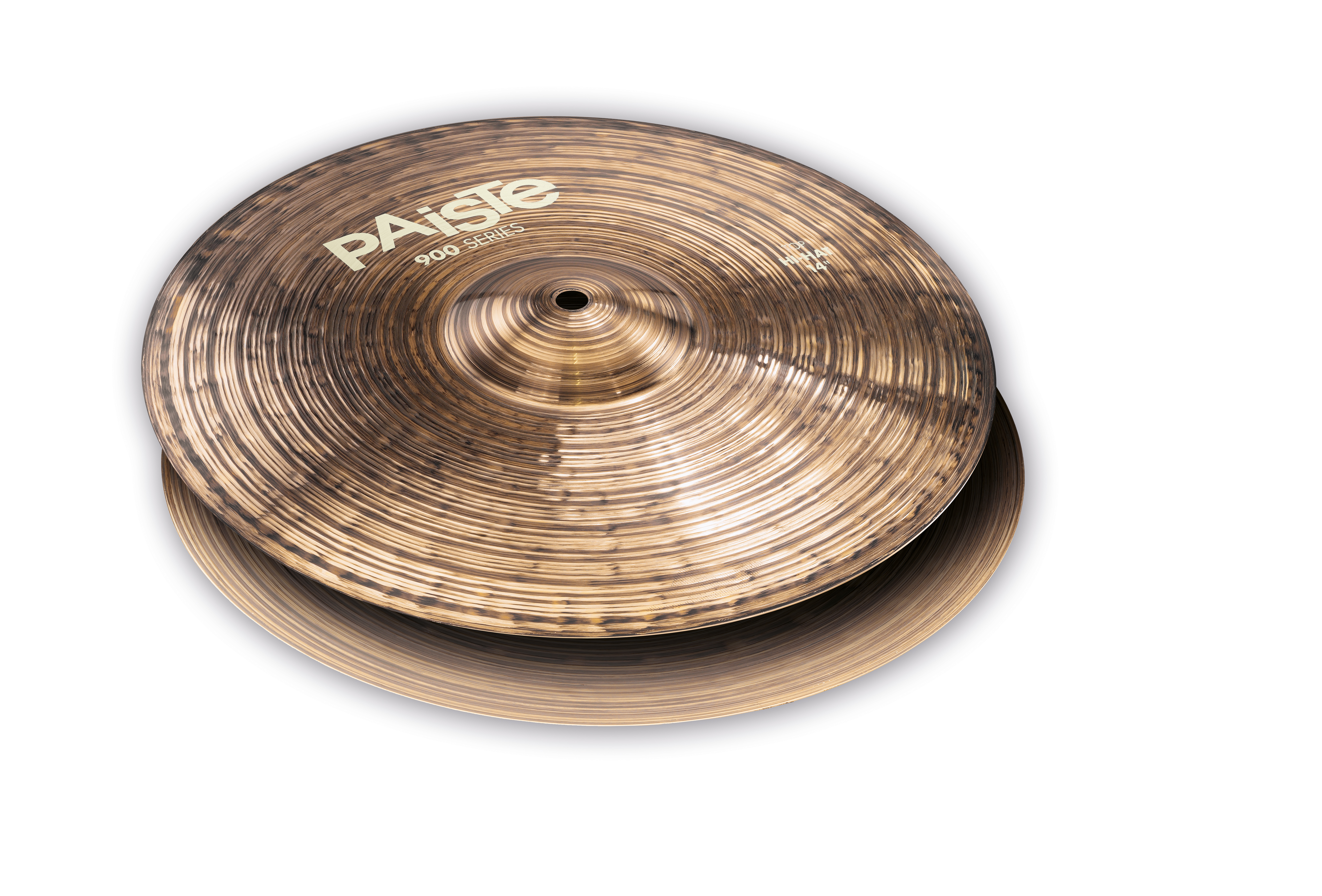 "Paiste 14/"" 900 Series Warm Chick Sound Medium//Heavy Hi-Hat Cymbal Pair 1903714"