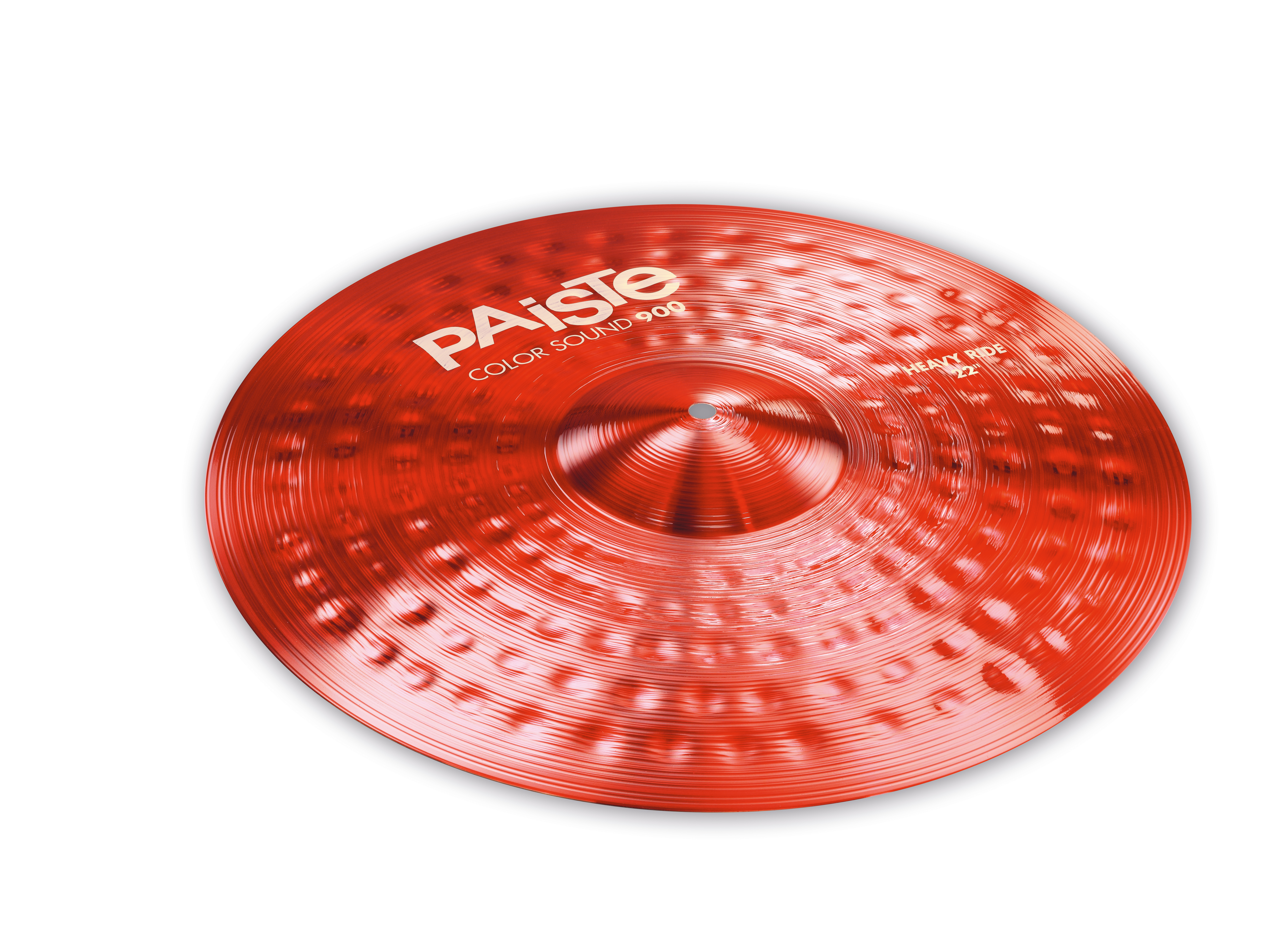 Paiste 20  Farbe Sound 900-Series Long Sustain Heavy rot Ride Cymbal 1922720