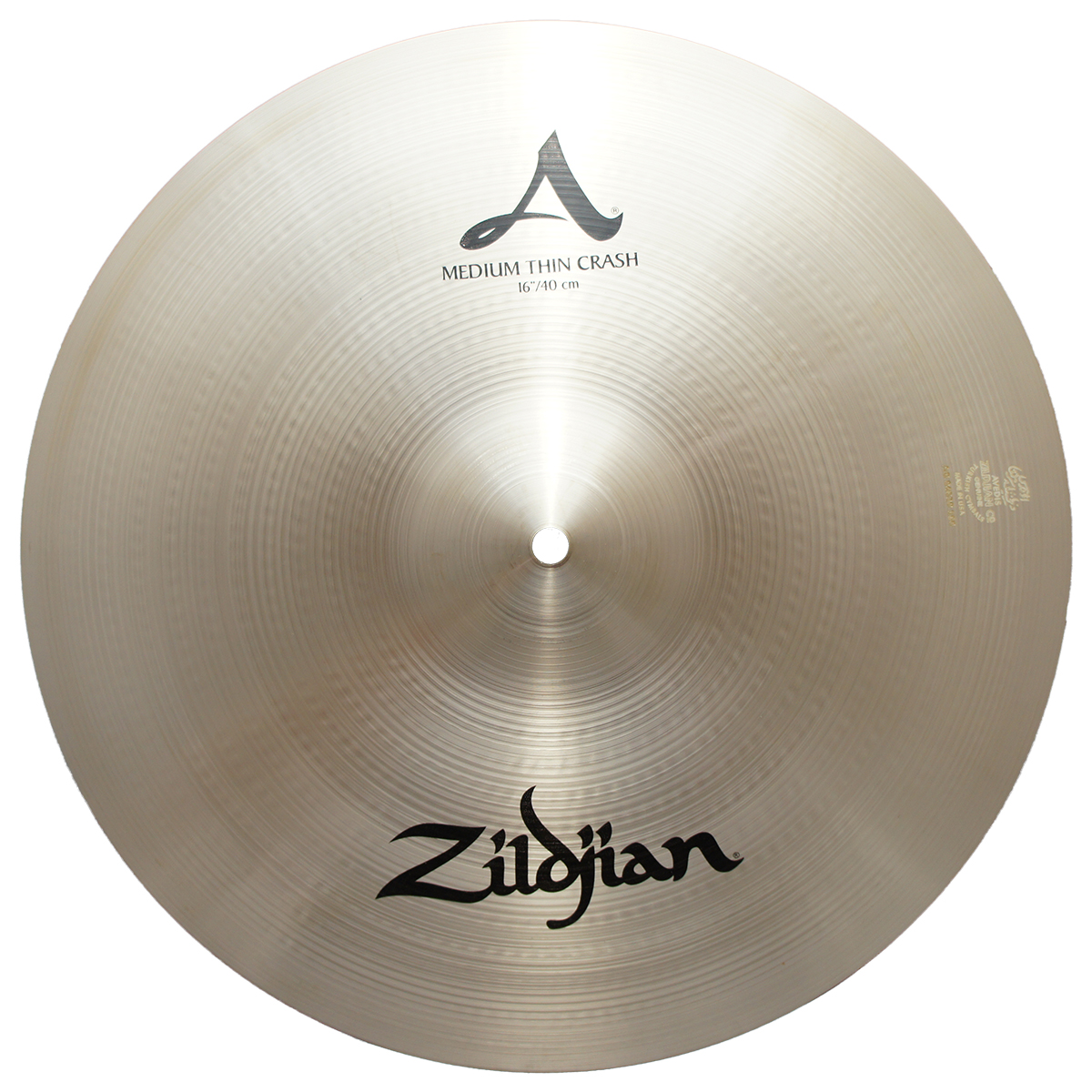 zildjian 16 a series medium thin crash cast bronze cymbal with mid to high pitch a0230 zil12. Black Bedroom Furniture Sets. Home Design Ideas