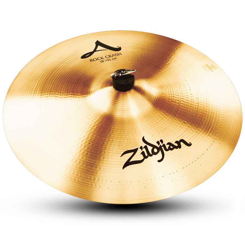 "Zildjian A0252 18"" A Series Rock Crash Drumset Cymbal with High Pitch & Bright Sound"