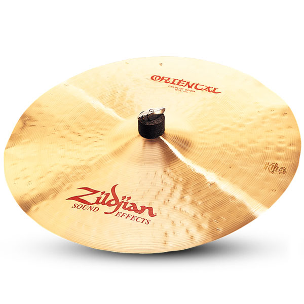 "Zildjian A0621 20"" Oriental Crash Of Doom Cast Bronze Cymbal with Large Bell Size"