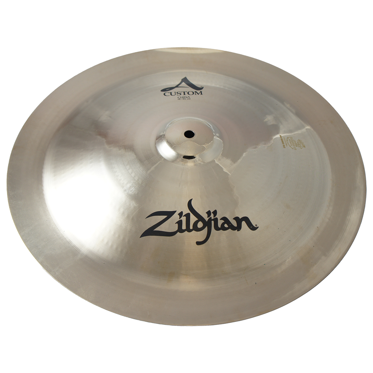 zildjian 20529 18 custom china cast bronze cymbal with mid to high pitch used 642388107256 ebay. Black Bedroom Furniture Sets. Home Design Ideas