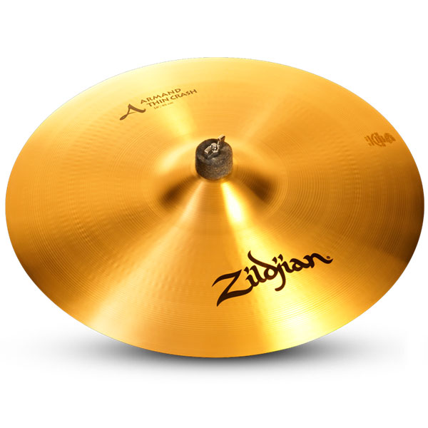 "Zildjian A8013 18"" Armand Thin Crash Drumset Cymbal with Traditional Finish"