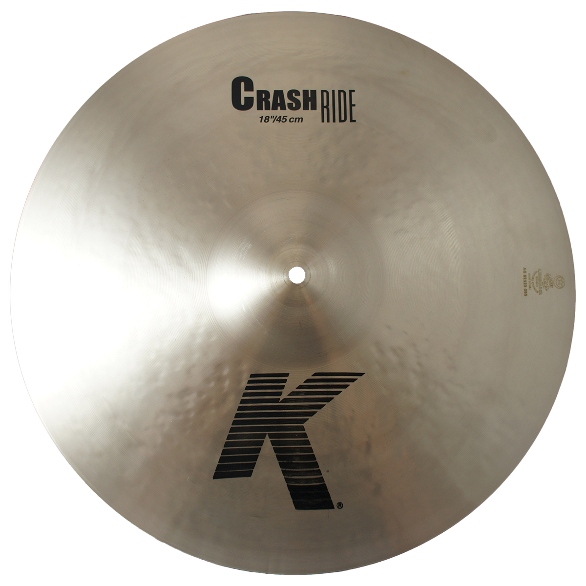 """Zildjian 18"""" K Series Crash Ride Drumset Cymbal with Cast Bronze Material & Mid to Low Profile K0808 - Used"""