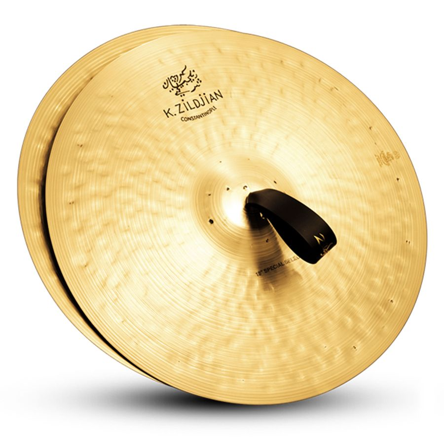 """Zildjian K1003 18"""" K Constantinople Orchestral Cymbal Special Selection Medium Heavy Single Traditional Finish"""