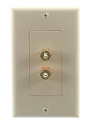 Stinger 28146WX Home Audio (2) Speaker Binding Post Wall Plate