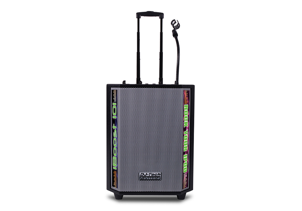 DJ Tech iBoost 103 Active All-in-one Mobile DJ-PA System for iPods