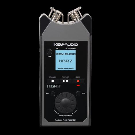 iKey Audio HDR7 Portable Digital Recorder W/ XY Condensor Microphones