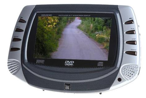 Dual XDVD181 Mobile Video Portable LCD DVD Player