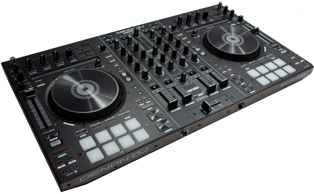 DENON DJ MC7000 4-CHANNEL SERATO DJ CONTROLLER / DIGITAL MIXER WITH DUAL USB (DEMO UNIT)
