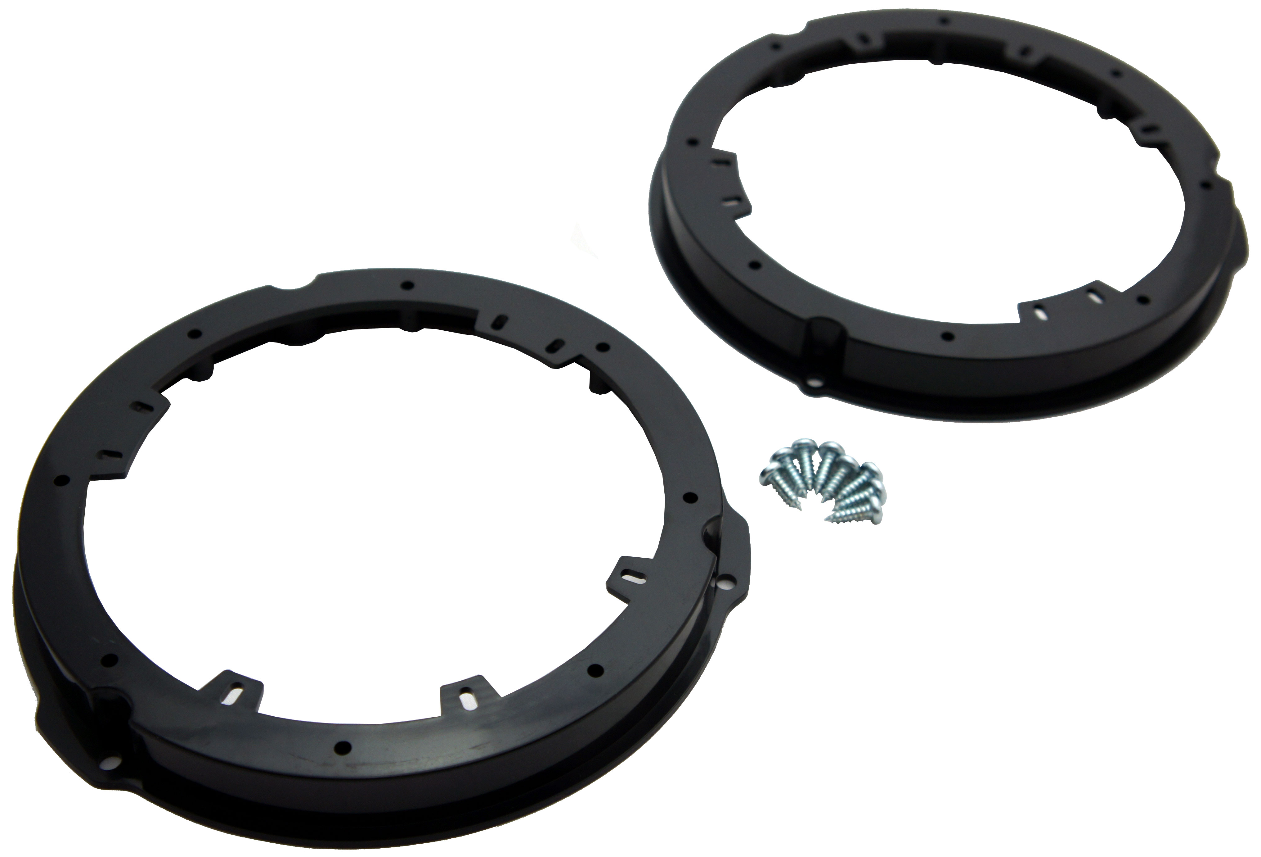"""Ford Lincoln Multi Model Factory to Aftermarket 6 1/2"""" 6.5"""" Speakers Adapter Kit"""
