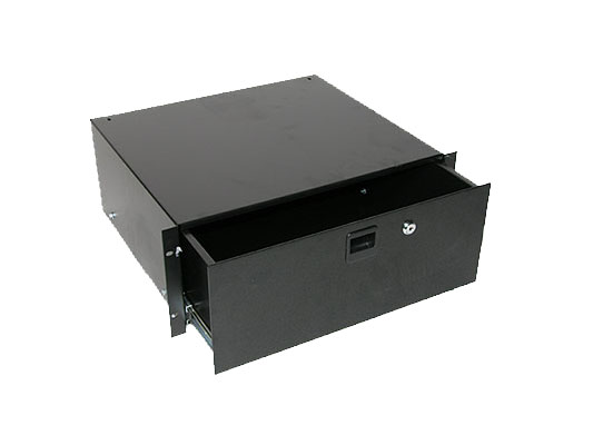 Odyssey Cases ARDP04 4 Space Pro Rack Drawer Accessory With Lock