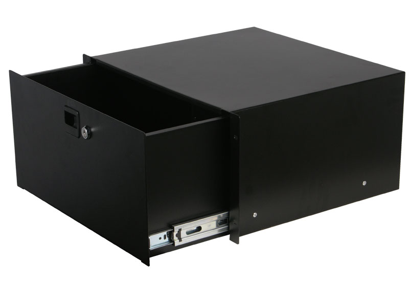 Odyssey Cases ARDP05 5 Space Pro Rack Drawer Accessory With Lock