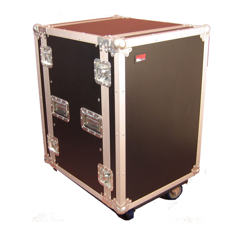 Gator Cases G-TOUR 14U CAST  Standard Audio Road Rack Case w/ Casters 14U