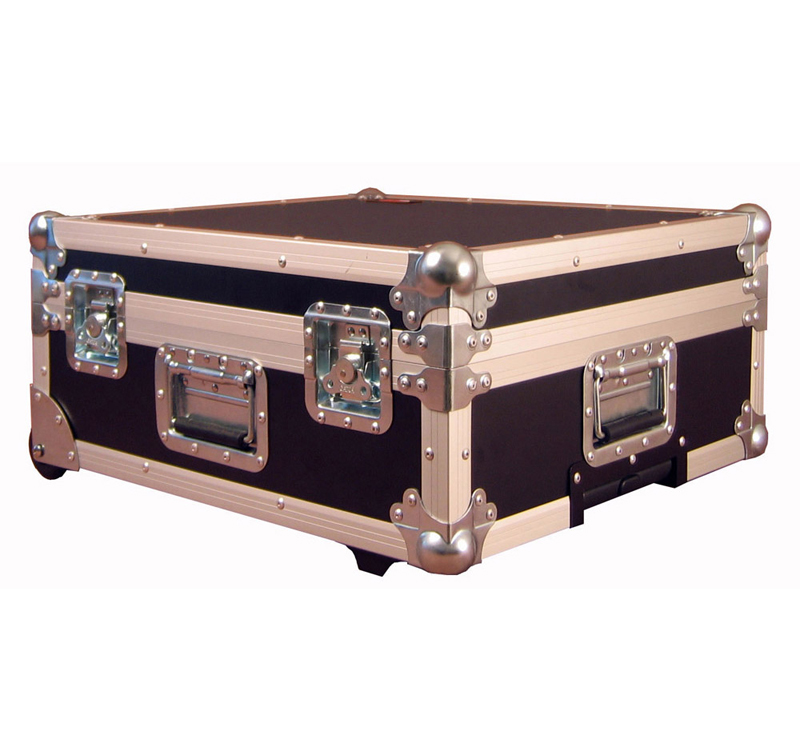 Gator Cases G-TOUR 19X21 ATA Wood Flight/Road Case for Mixers w/ wheels