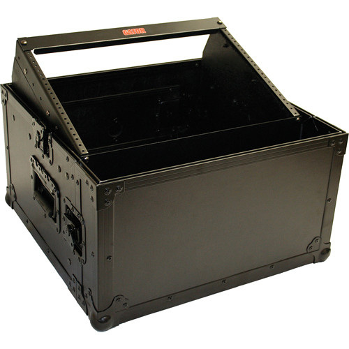 Gator Cases G-TOUR 8X2B Console Rack for 8U Over 2U All Black Tour-Style Heavy-Duty