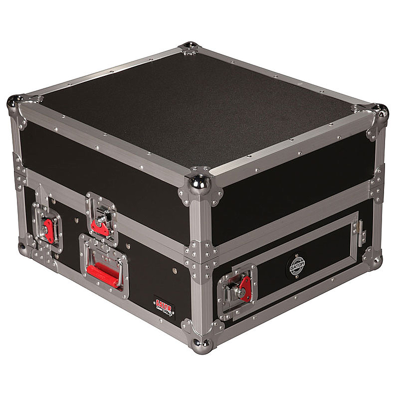 Gator Cases G-TOUR GRC10X2 Console Rack Case ATA Wood Flight 10U Top 2U Bottom Heavy-Duty