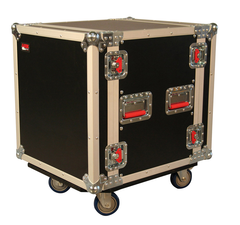 "Gator Cases G-TOUR12UCA-24D 12U 24"" Deep Audio Road Rack Case w/ Casters"