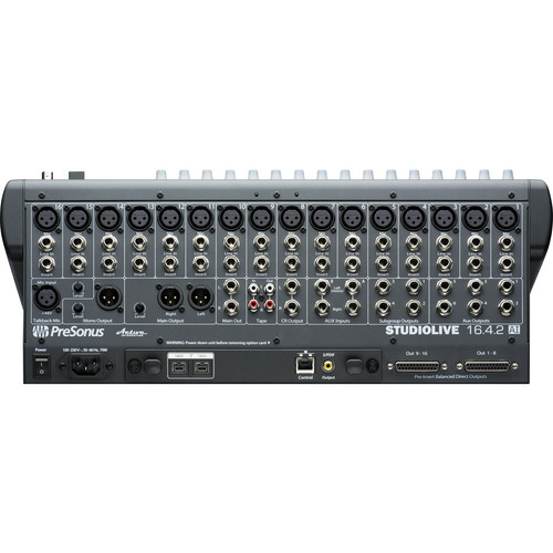 how to connect presonus to fl12