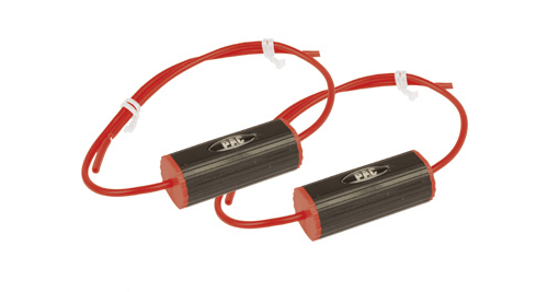 PAC BB-5PR 31/2-Inch 50-Watts Red Color Coded Leads Set of 2 Bass Blockers New