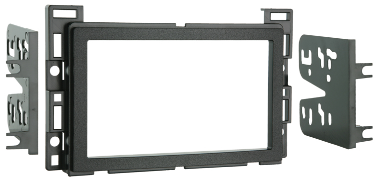 Metra 95-3302 Dual Single DIN or Double DIN Installation Kit for Select 2004-Up GM/Chevrolet Vehicles
