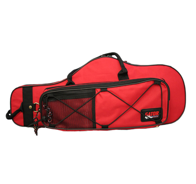 Gator Cases GL-ALTOSAX-RD-A Newly Designed Alto Sax Lightweight Case - Red