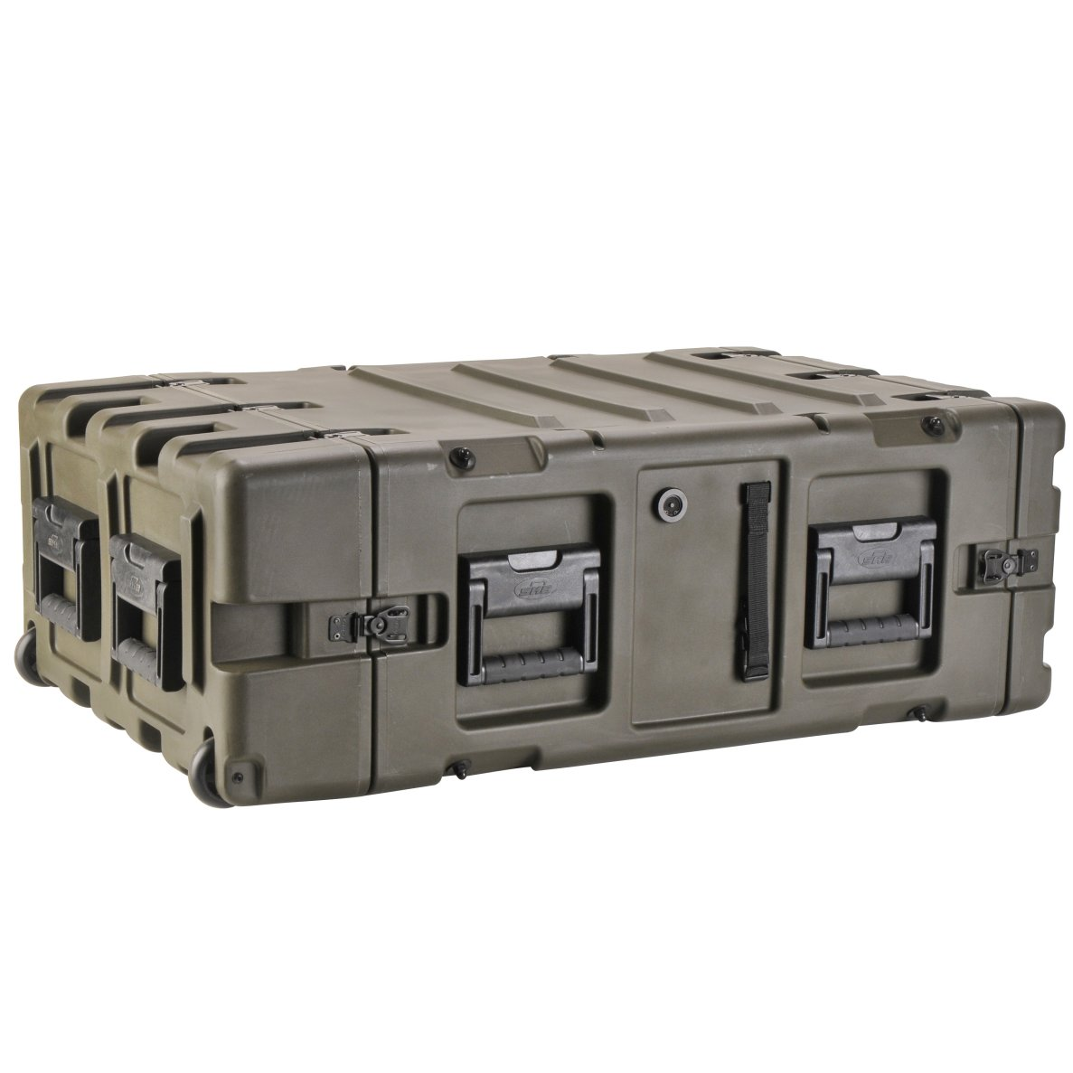 "SKB Cases 3RR-4U24-25B 3RR Series 4U Removable Shock Rack & Transport Case 24"" Deep (3RR4U2425B)"