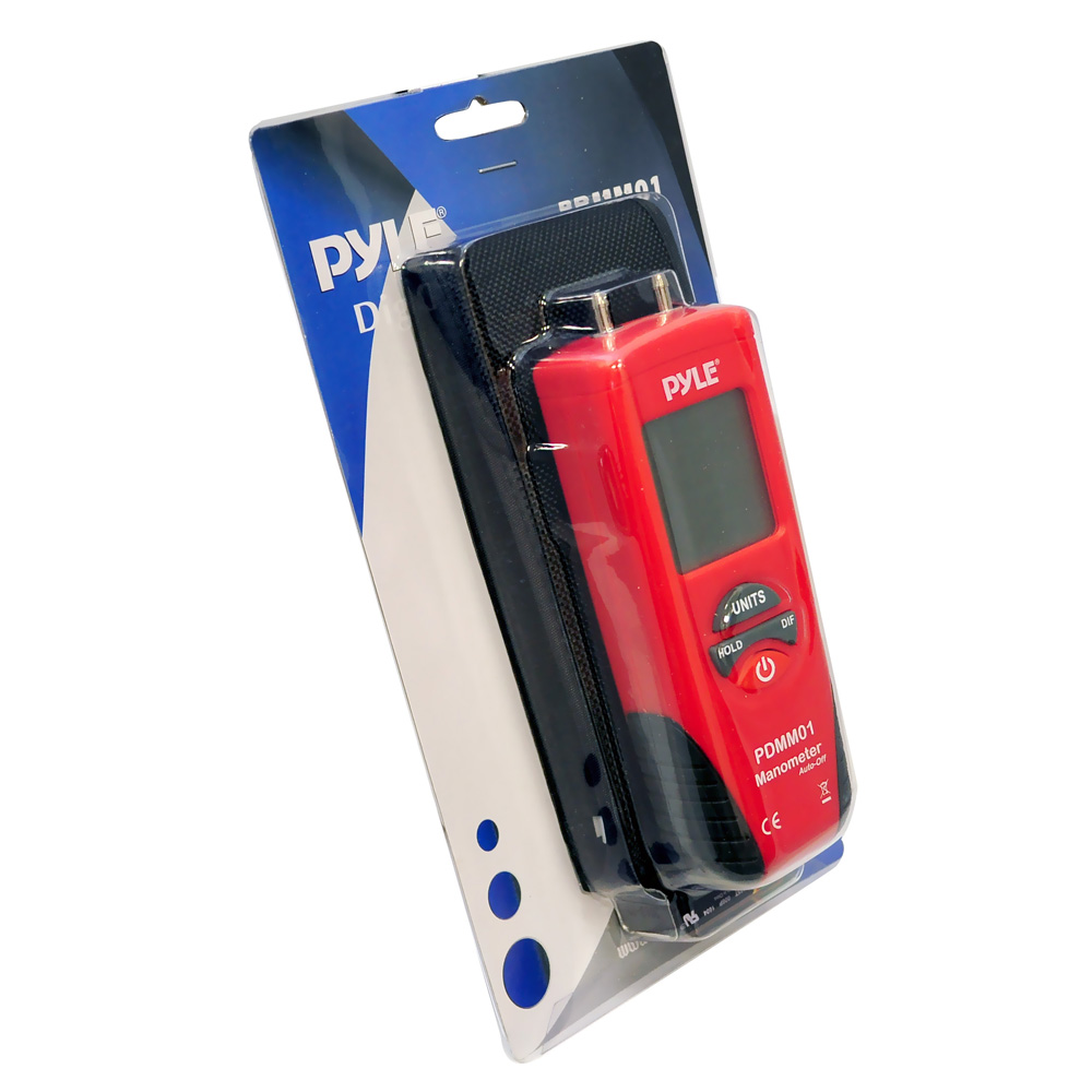 Pyle Car Audio PDMM01 Digital Manometer With 11 Units Of