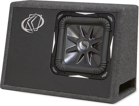 kicker ts10l7 loaded truck box w 10quot l7 subwoofer 4 ohm