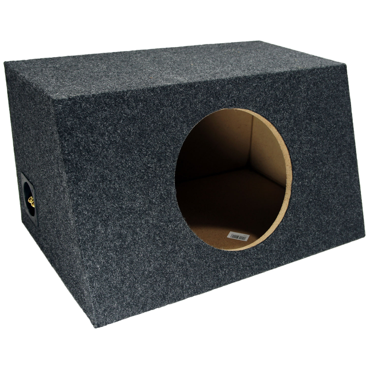 "Sub Boxes Hatchback Single 10"" Subwoofer Unloaded Enclosure Box"